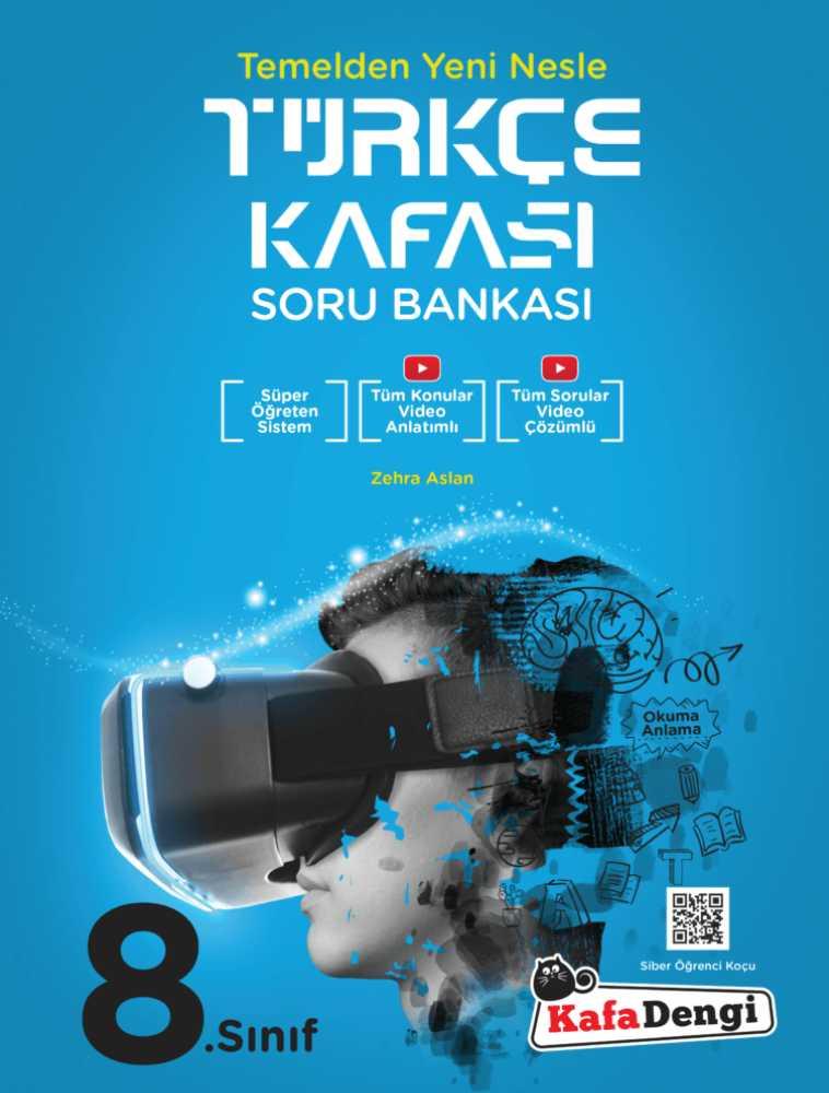 8.Sınıf türkçe kafası soru bankası - Kafa dengi yayınlarından