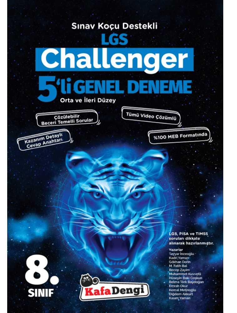 Lgs challenger 5,li deneme - Kafa dengi yayınlarından