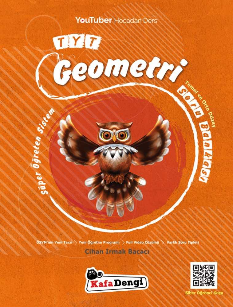 Tyt Geometri soru bankası - süper öğereten sistem - Kafa dengi yayınları